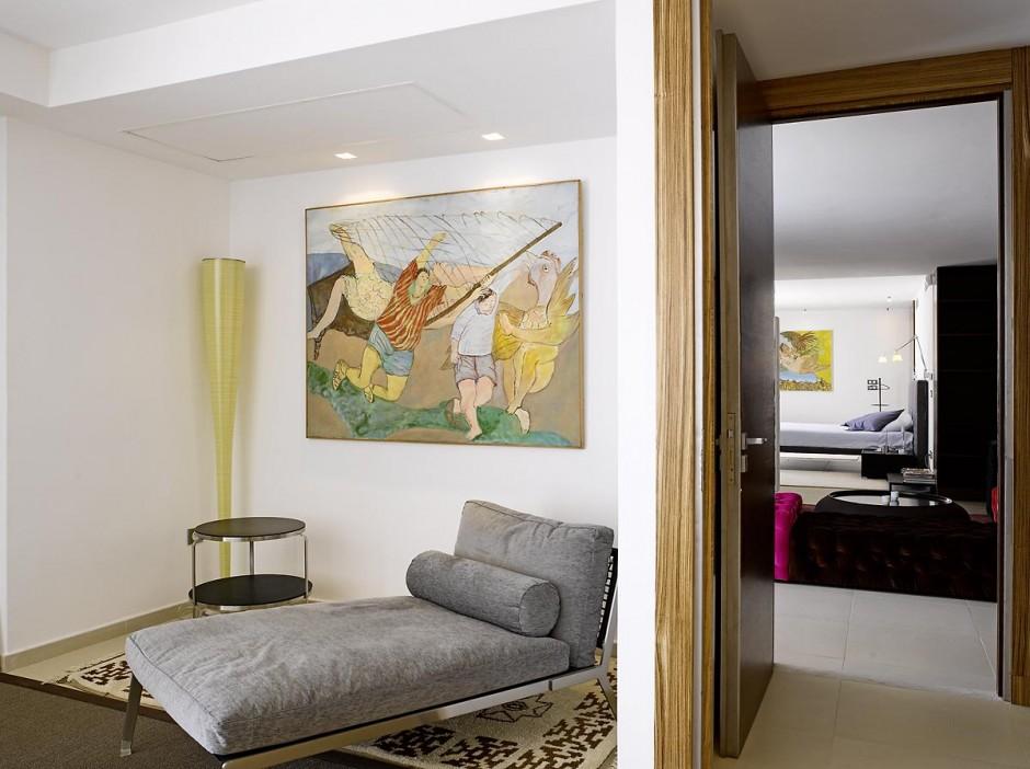 Villa contemporaine à Gammarth, banlieue nord de Tunis