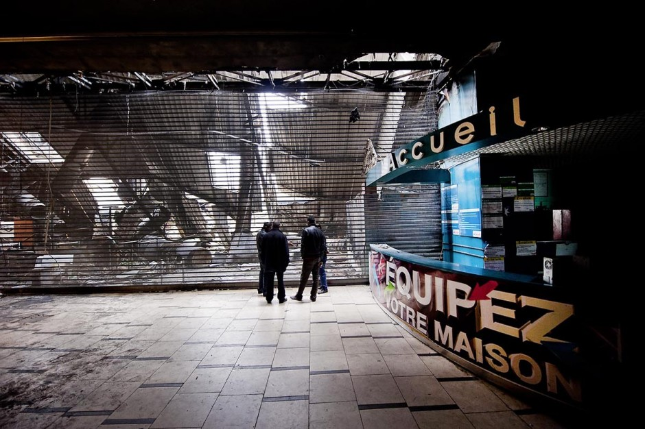 8 février : le centre commercial Tunis City et l