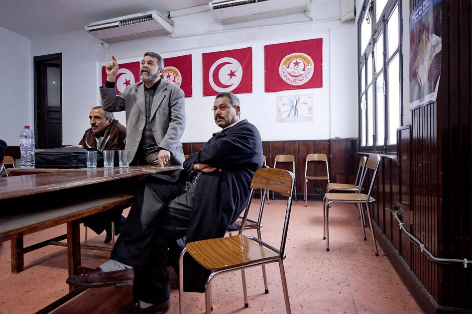 12 mars 2011 : Réunion de la commission administrative du syndicat national de l