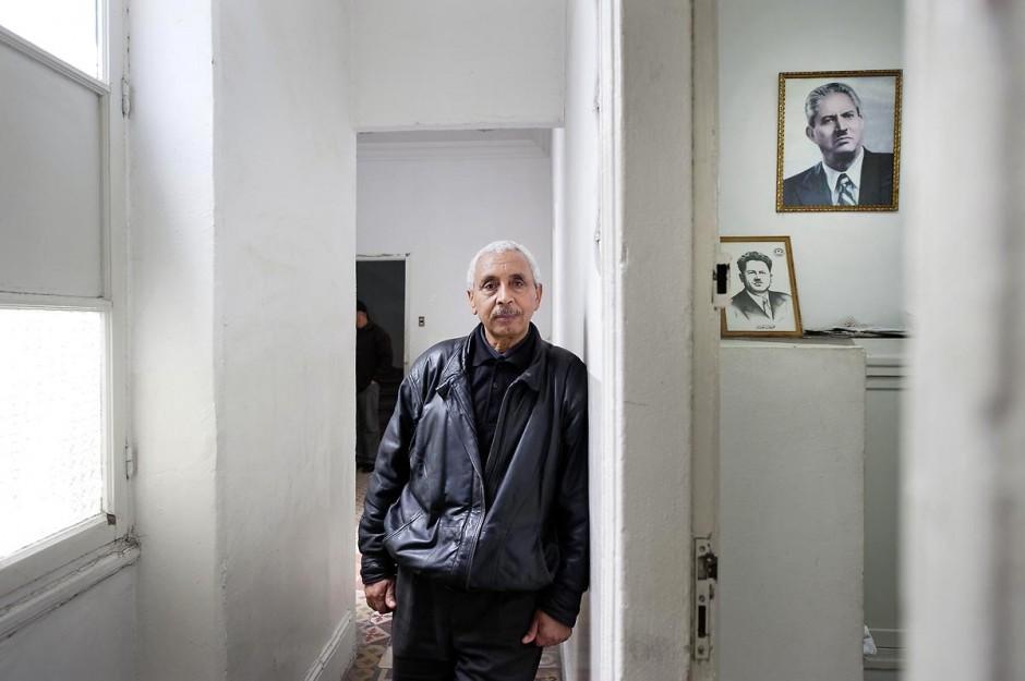 12 mars 2011 : Portrait de M. Hassène Ghodbane, secrétaire générale de la Fédération Générale de l