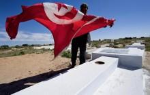 Cimetière et tombe de Mohamed Bouazizi près de Sidi Bouzid