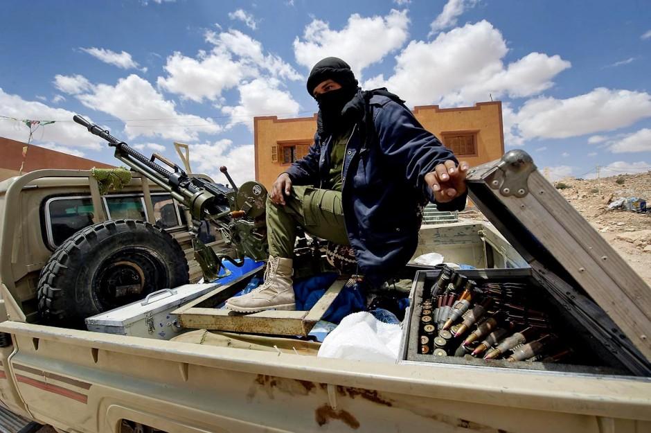 28 avril 2011 : Combattants libyens de l