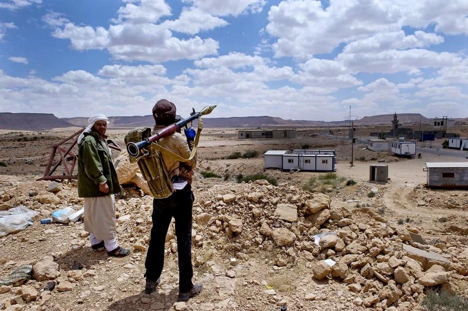 28 avril 2011 : Jeune Combattant libyens de l