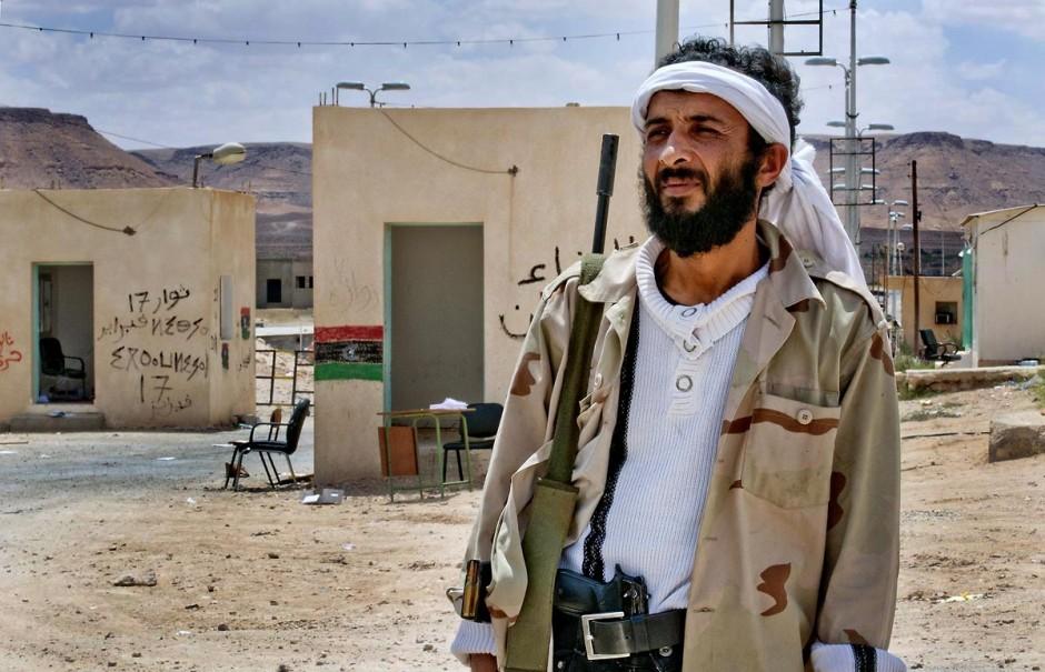 28 avril 2011 : Combattant libyens de l