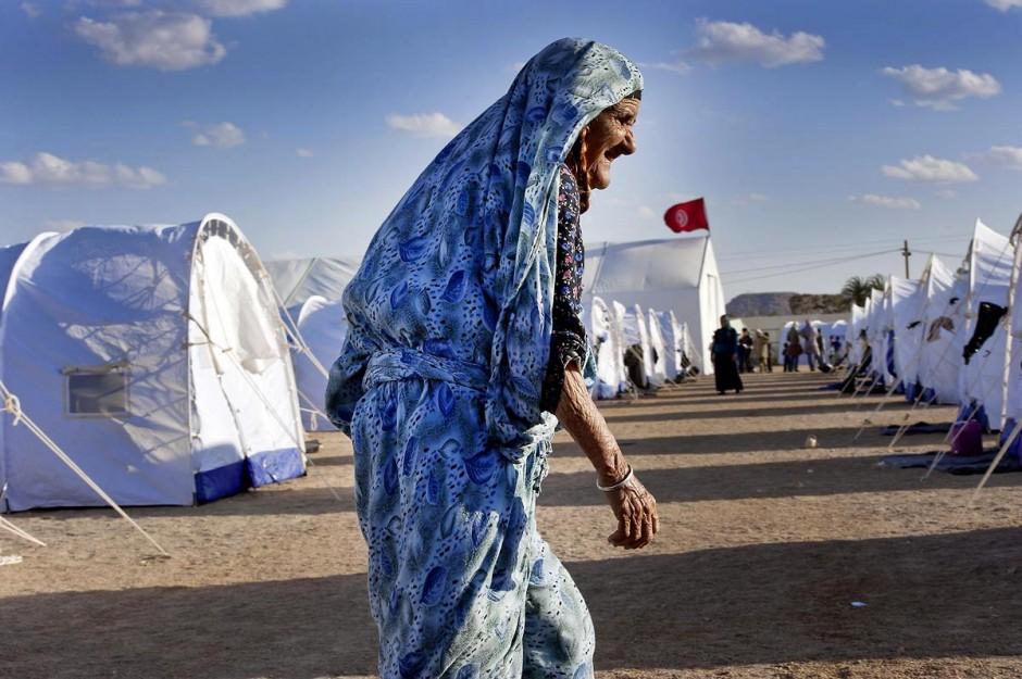 Camp de réfugiés libyens de l