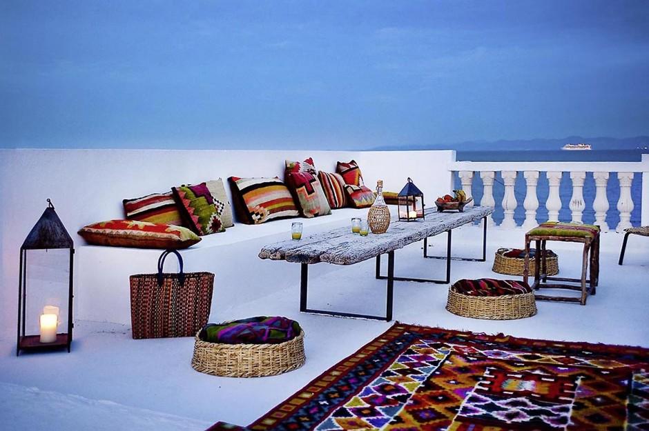 Dar Philippe Xerri, Designer, au Kram dans la banlieue nord de Tunis