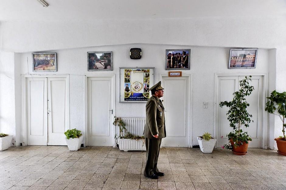 Le Colonel Major Ben Nasr à l
