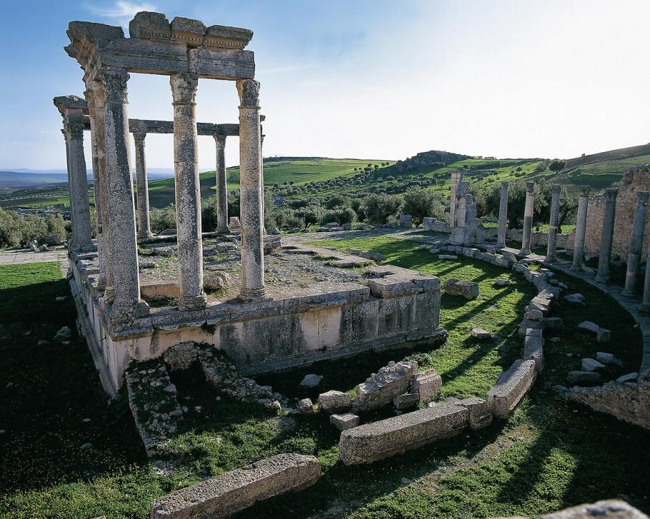 Temple de Caelestis de Dougga, 235 ap JC