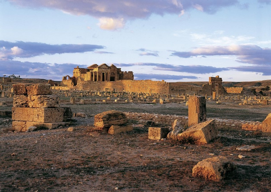 site archeologique de Sbeitla