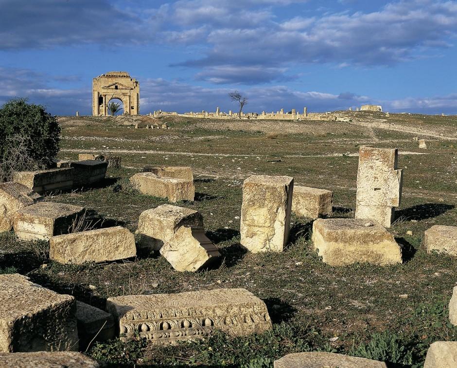 site archeologique de Makthar