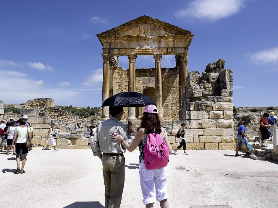 Site archéologique romain de Dougga classé patrimoine de l
