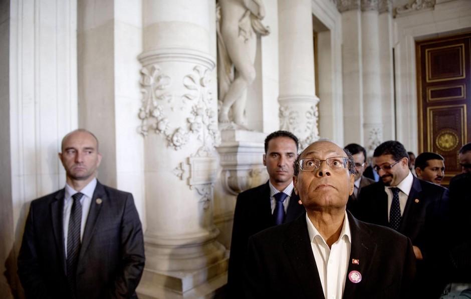 18 juillet : Le Président tunisien Moncef Marzouki est reçu à l