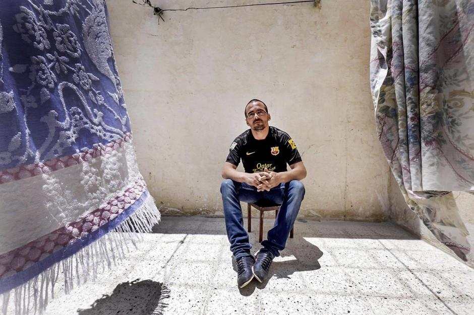 12 juin 2014 : Issam Amri, frère du martyr Mohamed, est aujourd