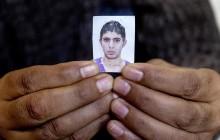 Photo de Bilal Kaadi, mort samedi 18 ocotbre dans une voiture Kamikaze, alors quil souhaitait rentrer en Tunisie après son engagement auprès de jihadistes. Rencontre avec 3 des 5 familles de jeunes partis en Libye faire le Jihad dans la ville de Oueslatia au centre de la Tunisie après la mort à Benghazi samedi 18 ocotbre de Bilal Kaadi, jeune tunisien de 23 ans.