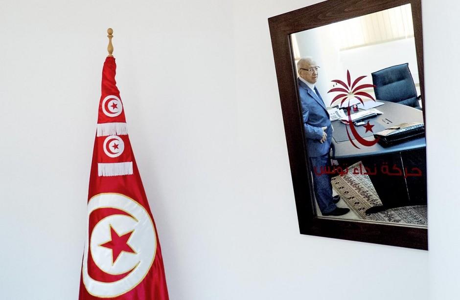 2 août 2013 : Béji caïd Essebsi, fondateur et président du principal parti d