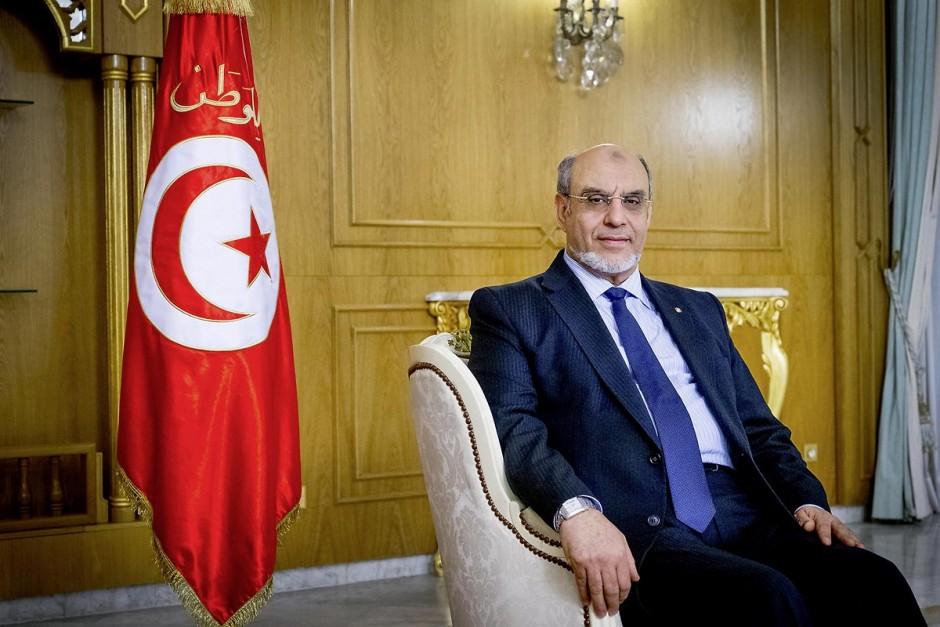 10 février 2013 : Hammadi Jebali, Premier Ministre tunisien et Secrétaire général du parti Ennahdha